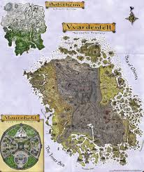 Solstheim Map Morrowind Map Vvardenfell Map Eso Morrowind The Elder Scrolls