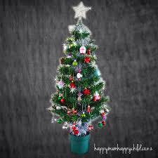 our christmas tree happy mum happy child