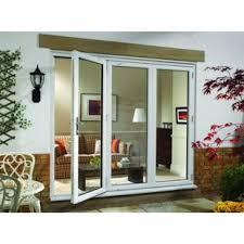 Wickes Bi Fold Doors Exterior Wickes Millbrook Upvc External Bi Fold Door Set White Right