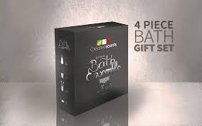 Gray Bathroom Accessories Set by Amazon Com Victoria Bath Ensemble 4 Piece Bathroom Accessories