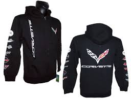 corvette hoodie hoodies sweatshirts us car and nascar fashion