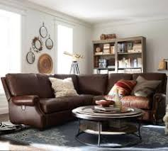 Pottery Barn Furniture Leather Sofa U0026 Sectional Collections Pottery Barn