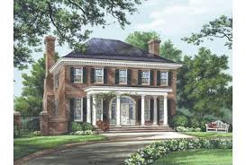 federal house plans eplans adam federal house plan the bristol 3280 square