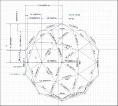 Geodesic Dome Home Floor Plans by Geodesic Dome Construction Using Roof Planes