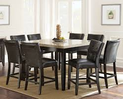 The Brick Dining Room Furniture Dining Room Elegant Dining Furniture Design With 7 Piece Counter