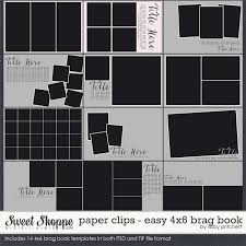 4x6 brag book paper easy 4x6 brag book templates by libby pritchett
