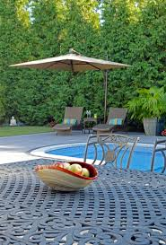 hicksville ny relaxing swimming pool landscape design project