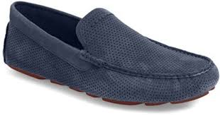 ugg womens driving shoes ugg ugg henrick twinsole driving loafer in blue for lyst