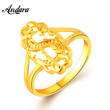 simple fashion rings images Andara new simple fashion design gold finger rings for women anle jpg