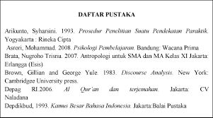 daftar pustaka merupakan format dari abstrak dan daftar pustaka aldiunanto com
