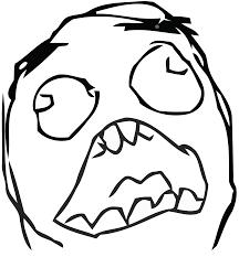 Suprised Meme - rage face script