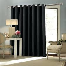 Patio Door Thermal Blackout Curtain Panel Insulated Patio Door Curtains Rod For Sliding Glass How To Hang