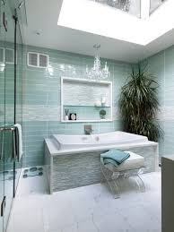 glass tile bathroom ideas captivating aqua glass tile bathrooms 33 for your decoration ideas