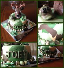 hunting cake my boyfriend would seriously want this tutorials