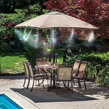 Patio Decking Kits by Mist Cooling System Mister Kit Outdoor Patio Misting Air Cooler