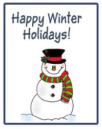 hello everyone happy winter holidays to you all