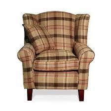 Tartan Armchairs Neyland Tartan Wingback Chair Front Wing Back Chairs Pinterest