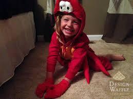 Crab Halloween Costume Mermaid U2013 Sebastian Costume Design Waffle