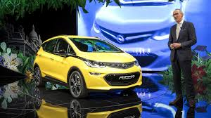 opel paris opel ampera e revealed in paris with huge 310 mile range