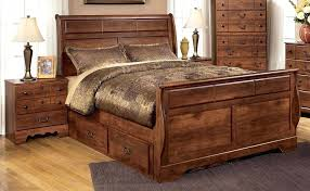 Pine Sleigh Bed Frame Birlea 4 6 Antique Wax Wooden Bed Antique Pine Bed