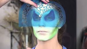 Halloween Airbrush Makeup Kit by Airbrush Face Painting Maleficent Youtube