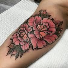 diamond tattoo neo traditional flowers tattoo by gia rose giarose neotraditional flowers floral