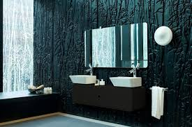 bathroom wall paint ideas unique textured wall design with black bathroom color for modern