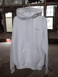 white last vacation hoodie stiropor
