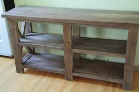 ana white my rustic x console diy projects