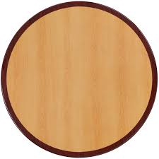 36 round table top 36 round two tone resin cherry and mahogany table top