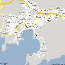 zihuatanejo map map of ixtapa zihuatanejo mexico hotels accommodation