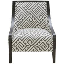 Traditional Accent Chair Kuka Home A 825 Traditional Accent Chair With Exposed Wood