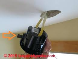 ceiling light junction box install light fixture without junction box how to install recessed