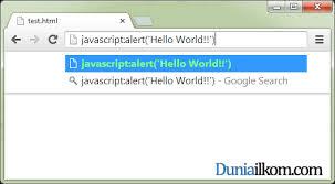 membuat web sederhana dengan javascript cara memasukkan input kode javascript ke dalam html duniailkom