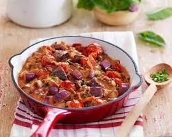 comment cuisiner le coeur de boeuf recette poêlée de bœuf aubergines et tomates façon moussaka