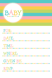 Baby Invitation Card Printed Baby Shower Invitations Theruntime Com