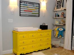 dresser changing table in nursery contemporary with stained