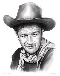 john wayne drawings fine art america