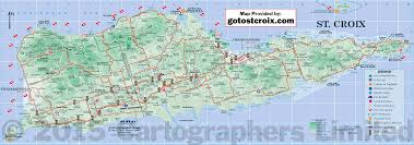 Highly Detailed River Map Of by Maps Of St Croix Island Maps St Croix Usvi Gotostcroix Com