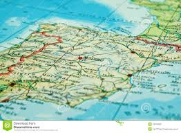 Map Spain Map Of Spain Royalty Free Stock Photo Image 16516285