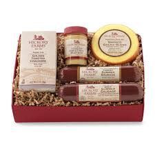 hillshire farms gift basket gourmet food gift boxes hickory farms