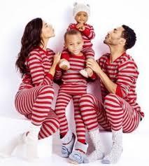 2016 new family matching striped family pajamas