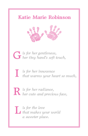 baby girl cards what is a baby girl baby printable card blue mountain ecards