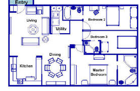 1000 sq ft floor plans this floor plan has 1 bedroom a 3 piece bathroom an open bedroom