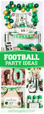 football party invitation template free printable football