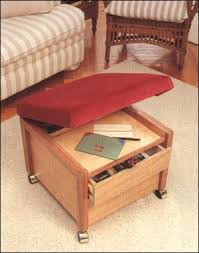 Storage Stools Ottomans Book Of Ottoman Woodworking Plans In Australia By William