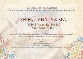 nail salon katy nail salon 77450 serenity nails u0026 spa