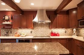 Backsplash Ideas For Small Kitchen Racetotop Com by Kitchen Backsplash With Dark Cabinets Interior Design
