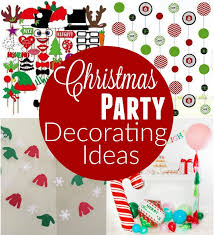christmas party table decorations christmas party decorating ideas hoosier homemade