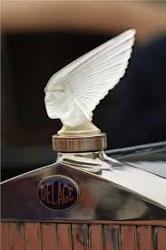 delage mascot 1928 spirt of the wind by rene lalique